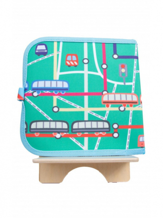 Doodle It & Go erasable book - Train - Carte refolosibilă pentru desen3