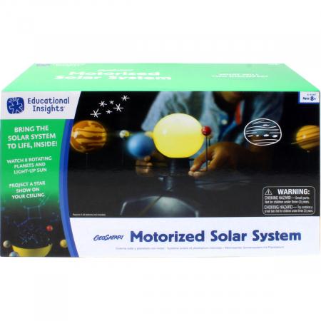 Sistem solar motorizat0