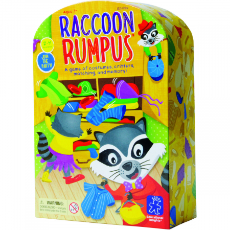 Raccoon Rumpus - Taraboiul ratonului0