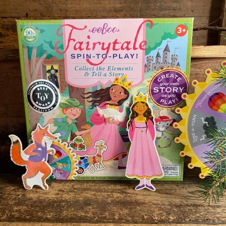 Fairytale Spinner Game - Joc educativ cu ruleta pentru dezvoltarea vocabularului si a limbajului1