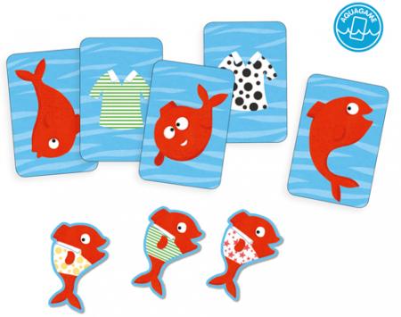 Spidifish - Joc cu carti rezistente la apa1