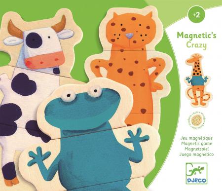 Joc cu magneti Animale  amuzante0
