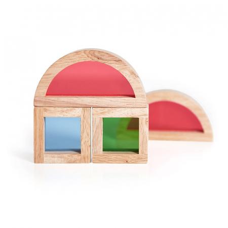 Junior Rainbow Blocks set 20 piese2