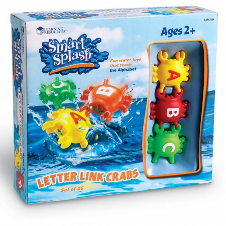 Crabi cu litere - Joc de potrivire0