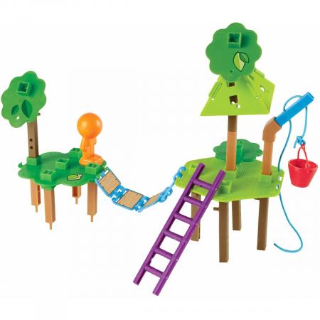 Casuta din copac - joc STEM3
