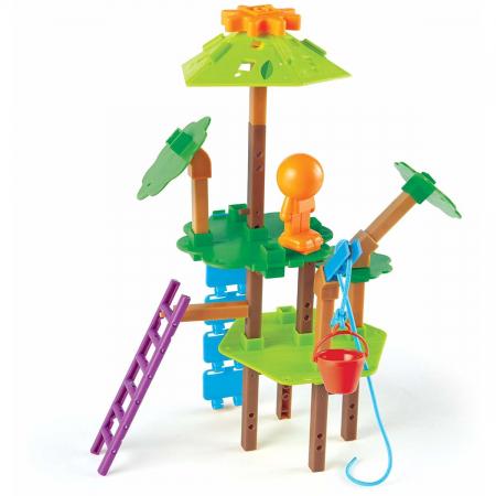 Casuta din copac - joc STEM2