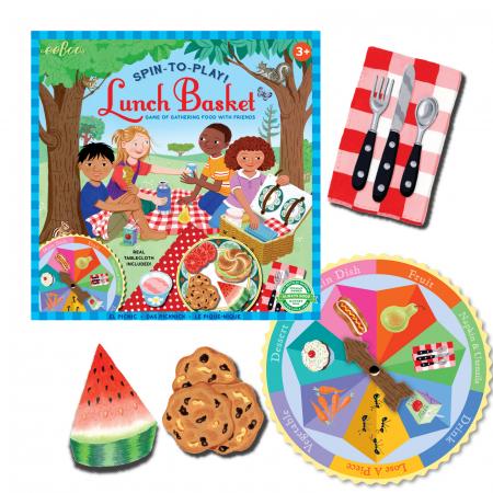Lunch Basket Spinner Game - Cosul de Picnic - Joc educativ [1]