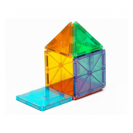 Magna-Tiles Clear Colors set magnetic (32 piese)3