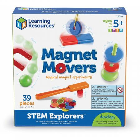 Magnet movers - magie cu magneti - set STEM0