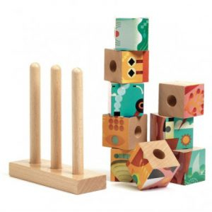 Puzzle vertical cu cuburi - Puzz-Up Forest [2]