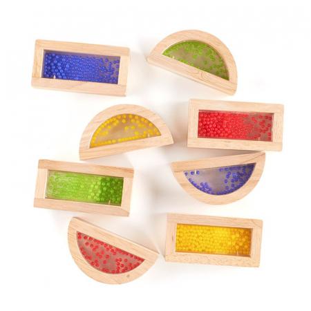 Rainbow Blocks cu margele colorate2