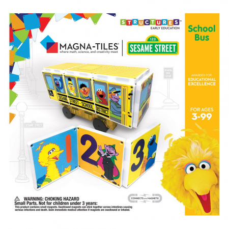 Sesame Street School Bus0