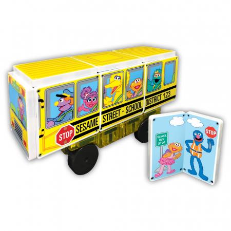 Sesame Street School Bus2
