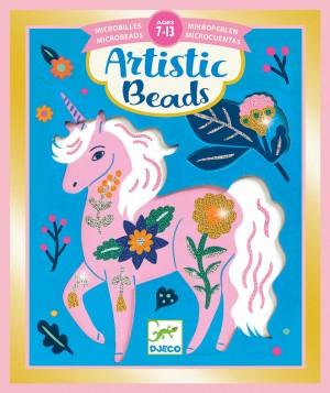 Set creativ cu margele, Animale si flori [0]