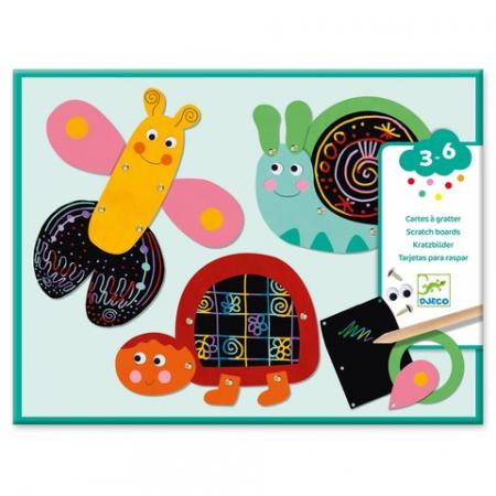 Set creativ de razuit - Animale amuzante [0]