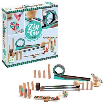 Zig & Go 28 piese - Set de constructie trasee [1]