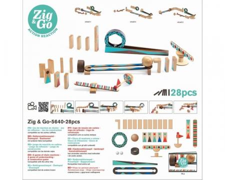 Zig & Go 28 piese - Set de constructie trasee [2]