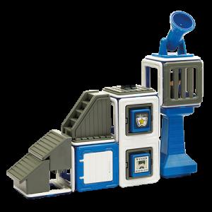 Set magnetic - Uimitorul set de politie4