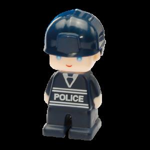Set magnetic - Uimitorul set de politie2