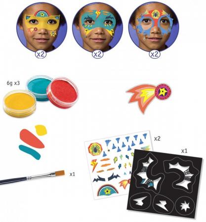 Set make-up culori non alergice Super Eroi [2]