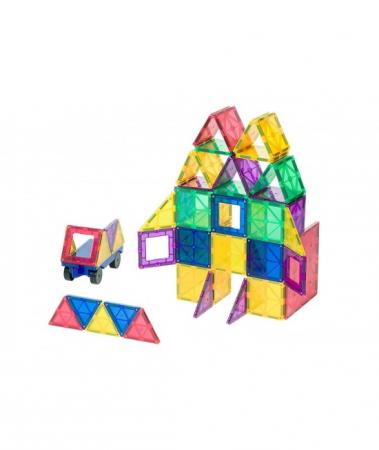 Set Playmags 50 piese magnetice de construcție0