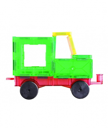Set Playmags 50 piese magnetice de construcție3