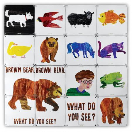 Ursule brun, tu ce vezi? - Eric Carle4
