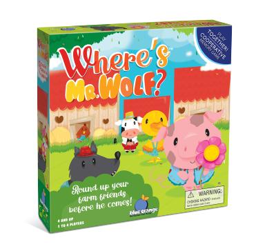 Where's Mr. Wolf? - Joc de cooperare [0]