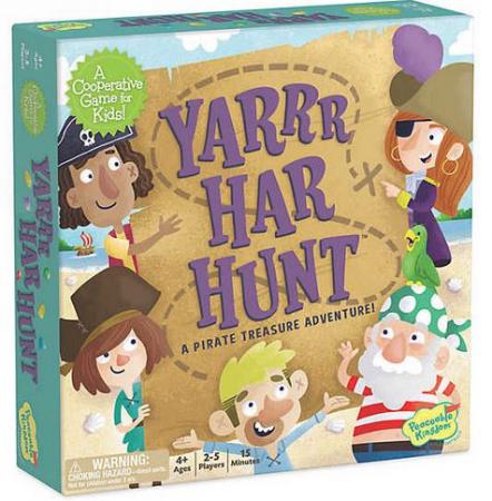 Yarrr-Har-Hunt – Comoara piraților, joc de strategie și cooperare0