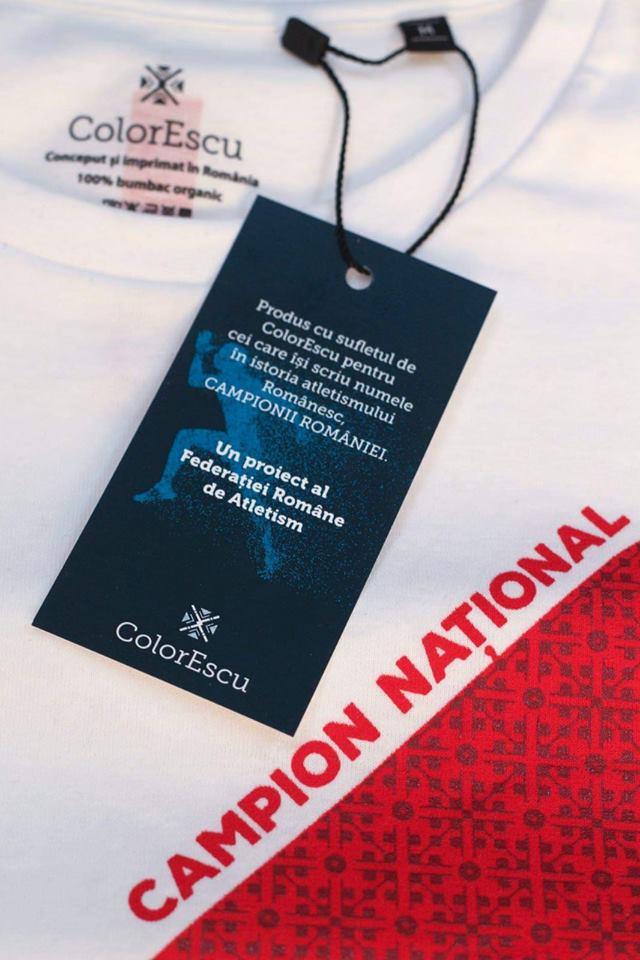Campionii noștri poartă tricouri cu spirit românesc de la ColorEscu