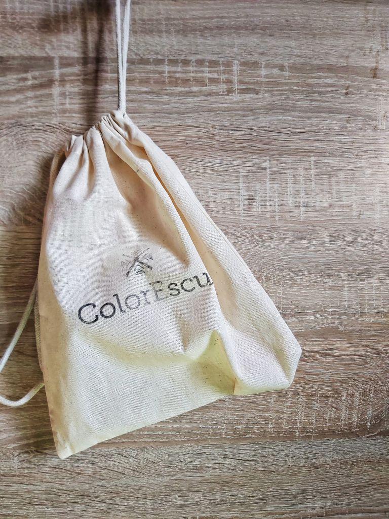 Săculeț de pânză ColorEscu – îți provoacă inventivitatea