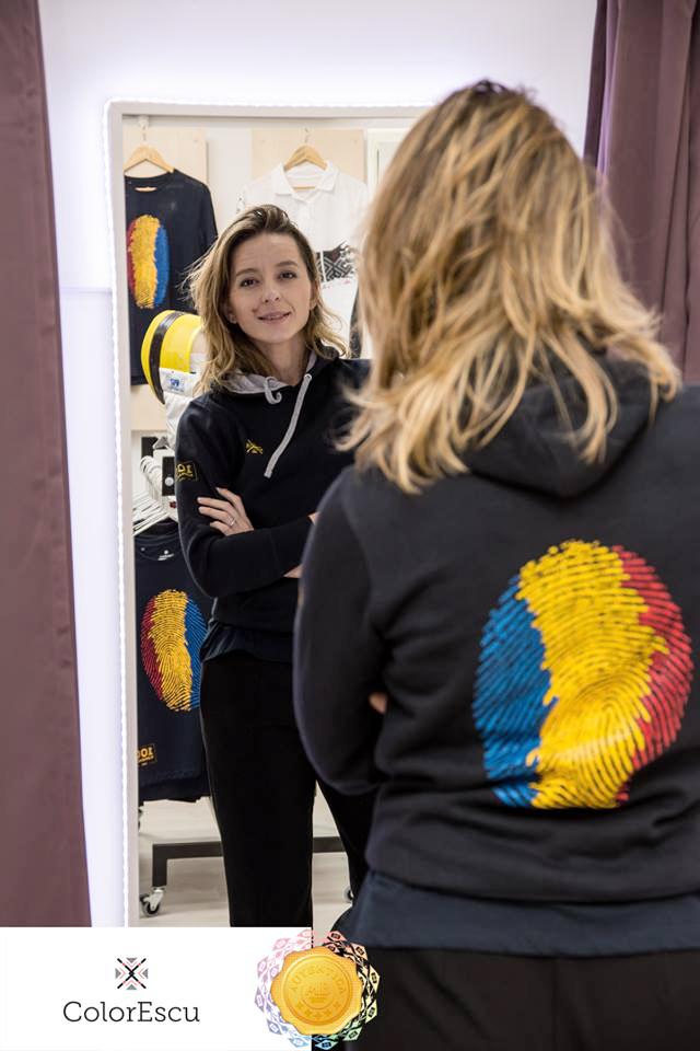 Ana Maia Branza si tricourile ColorEscu