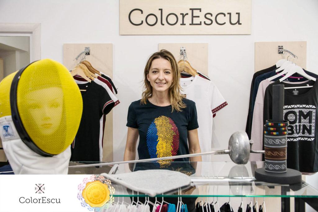 Ana Maria Branza in vizita la ColorEscu
