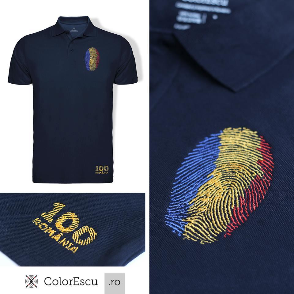 Tricou Polo Amprenta ColorEscu
