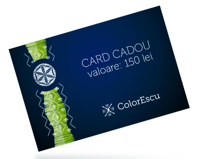 Card Cadou 150 lei de la ColorEscu