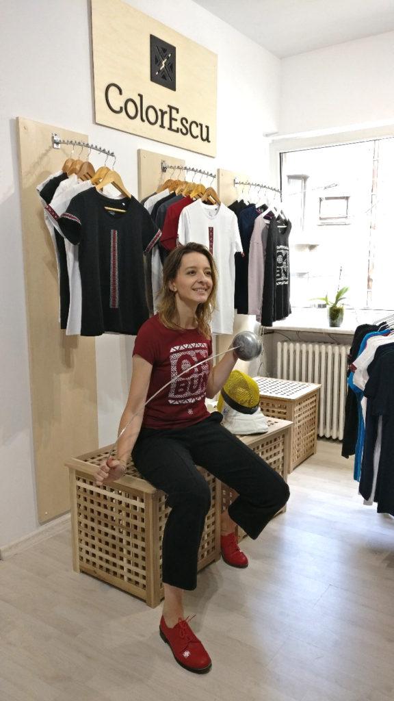 Ana Maria Branza in vizita la sediul ColorEscu
