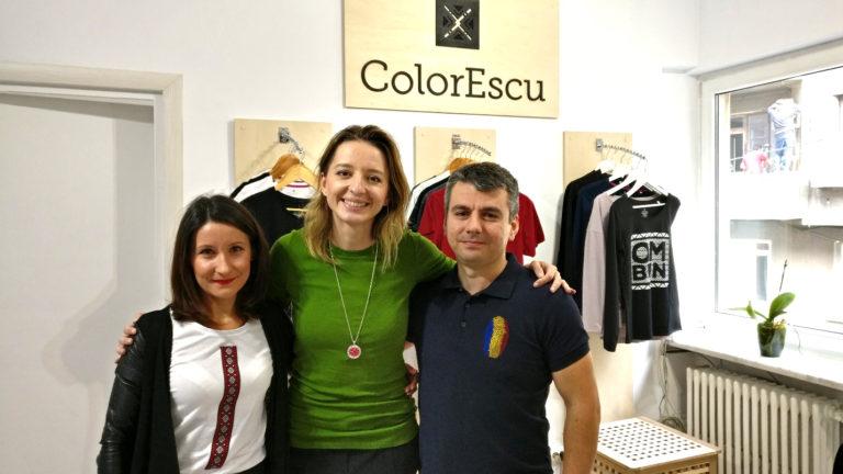 Ana Maria Branza si echipa ColorEscu