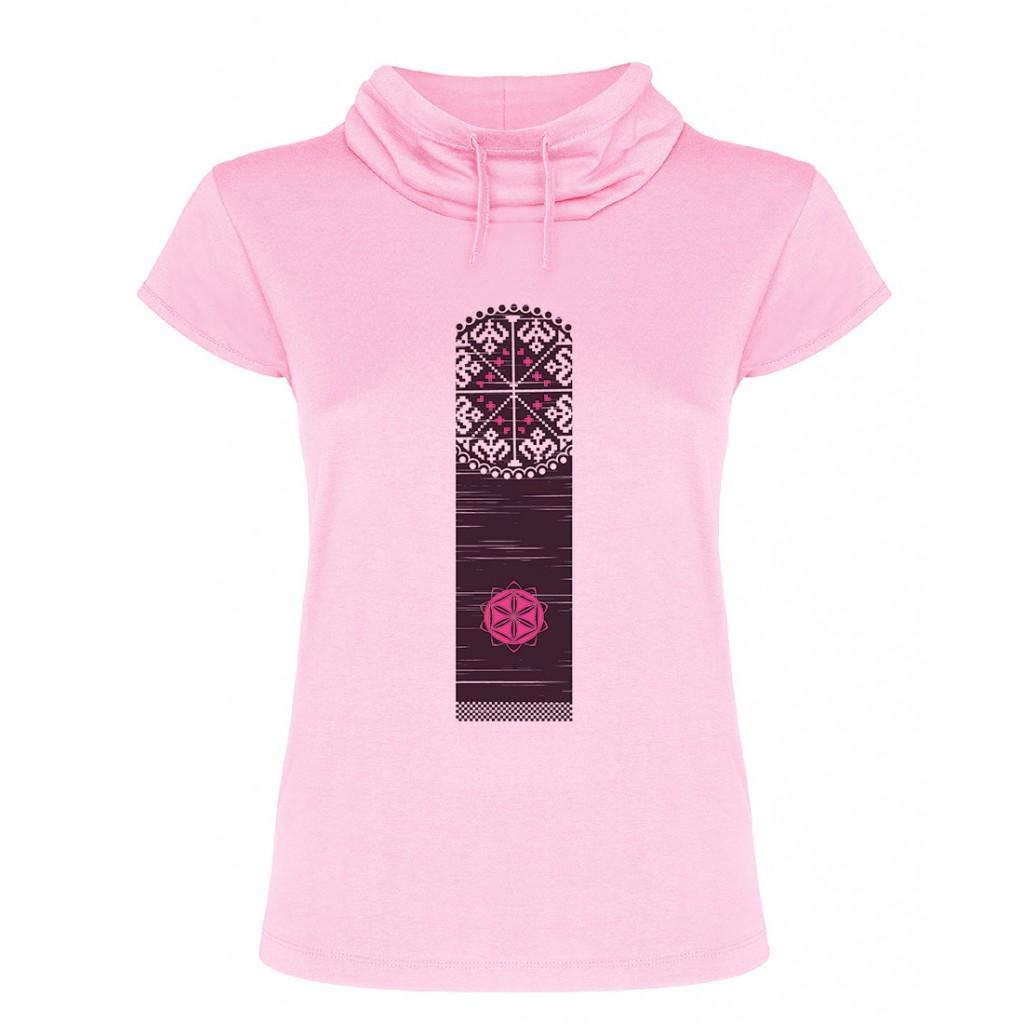 Tricou roz ColorEscu