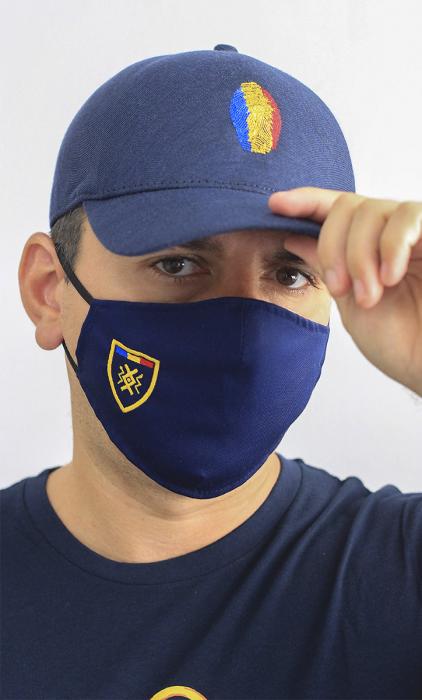 Mască brodată Simbol Tricolor 1