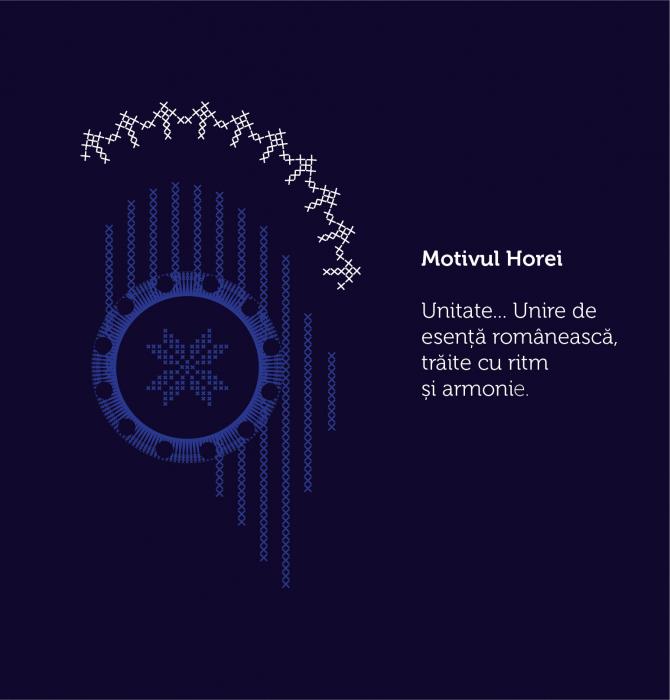 Tricou Simbol România, bleumarin, bărbat 4