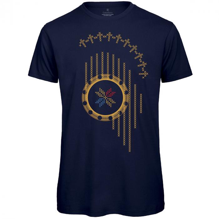 Tricou Simbol România, bleumarin, bărbat 0