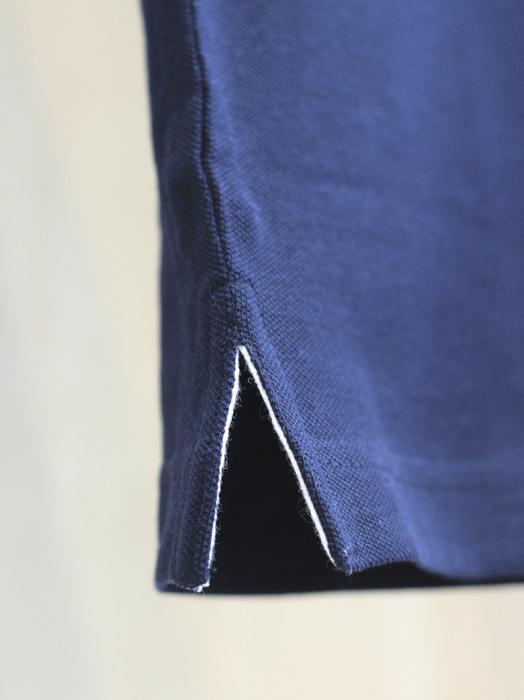 Tricou Simbol Cucuteni, broderie, culoare bleumarin 2