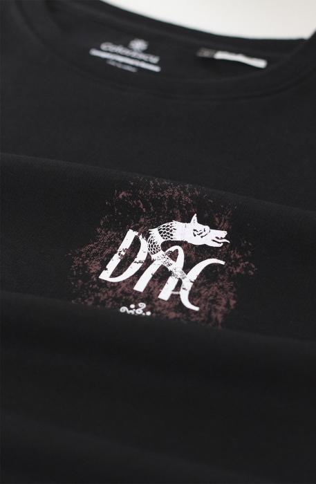 Bluză Dac, culoare neagră 1