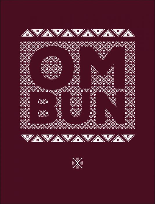 Bluză Om Bun, bărbat, culoare grena 2