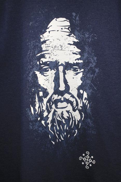 Bluză Decebal, culoare denim 2