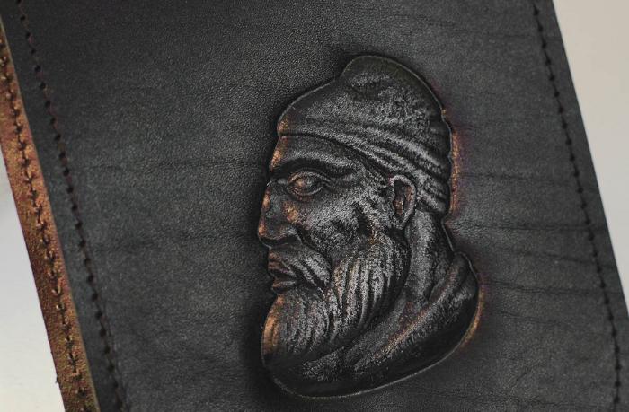 Borsetă din piele - Decebal 3