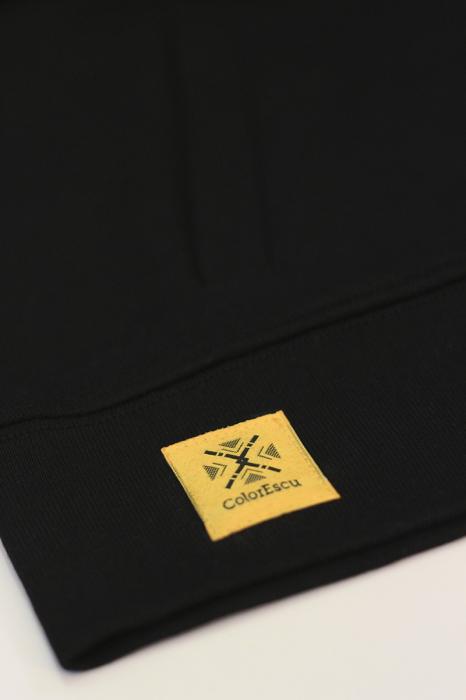 Jachetă Semne Bune, broderie, culoare neagră 3