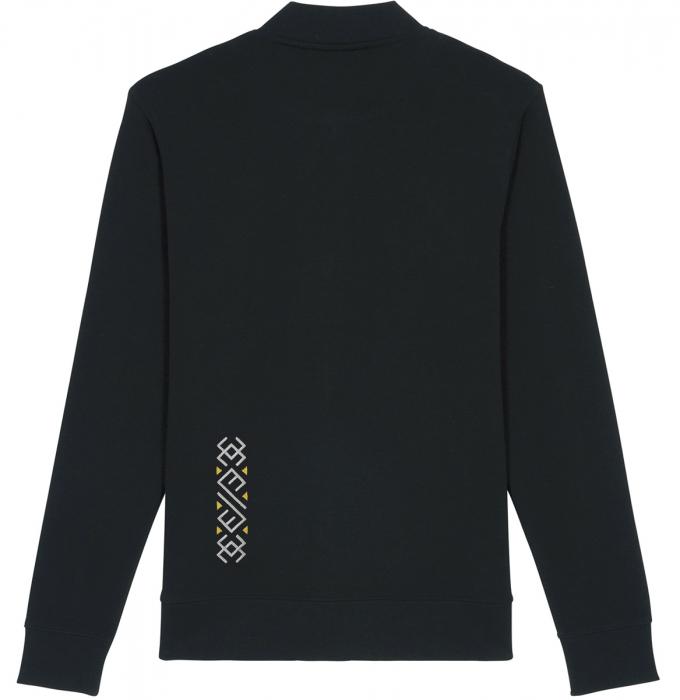 Jachetă Semne Bune, broderie, culoare neagră 1