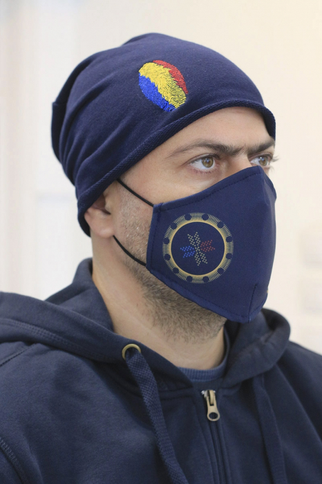 Mască textilă Simboluri Românești 0