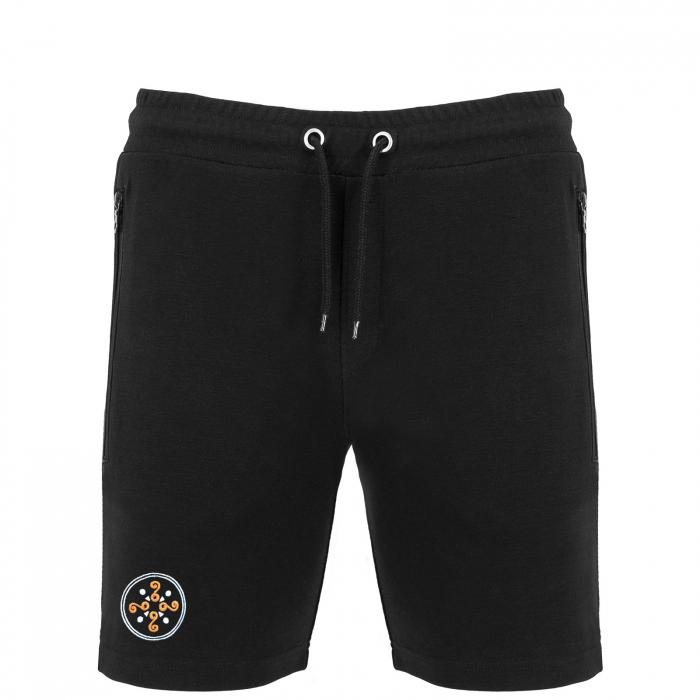 Pantaloni scurți Simbol Cucuteni, broderie 0